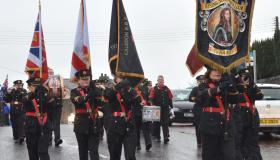 Remembrance services 2019 in Markethill, Tandragee and Killylea