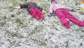 READER PICS: Fun in the snow on New Year's Eve!