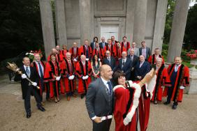 Rory Best awarded Freedom of the Borough at Palace ceremony
