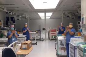 WATCH: ICU staff join in the 'Clap for Carers'
