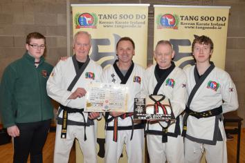 Ireland's first Tang Soo Do Grandmaster visits Middletown Martial Arts Club