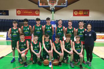 St Patrick's are All-Ireland Basketball Champions