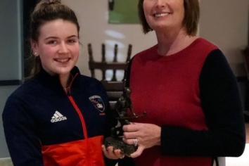 St Brigid's celebrate success of U16 Girls