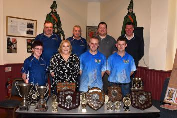 City Centre darts league hold annual prize night