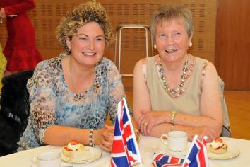 Royal Tea Party at Civic Centre