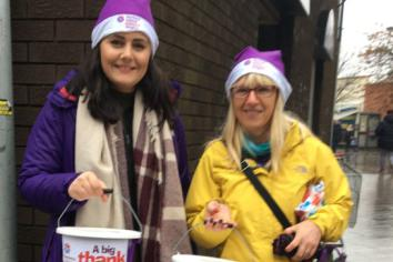 Collection raises £1479.39 for NI Children's Hospice