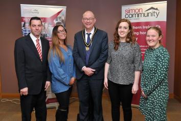Deputy Lord Mayor raising awareness of homelessness in borough
