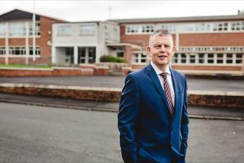 Mr Colin Berry (picture from Aughnacloy College's website).