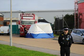 Arrests in France and Belgium over Essex lorry deaths