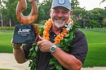 Darren Clarke claims back-to-back wins