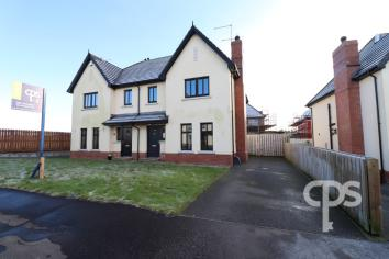 PROPERTY OF THE WEEK: Modern semi-detached located just off Armagh's prestigious Portadown Road