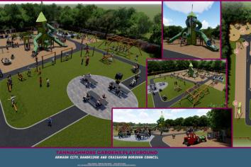Tannaghmore Gardens play park set for £250,000 revamp