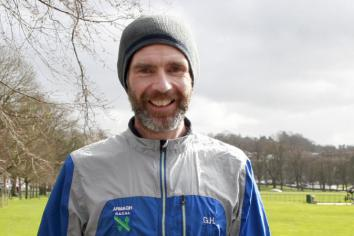 Just Giving page registered as Gary prepares to run Belfast marathon for Armagh Child Contact Centre