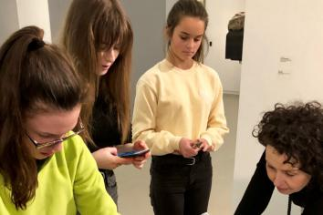 Lab Nights: a new creative lab for young people at the FE McWilliam Gallery