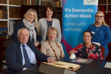 Library welcomes carers for Dementia Week