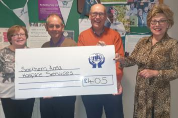 Local Credit Unions showing support to Southern Hospice