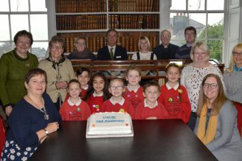 Exhibition on Children's Rights at Armagh Robinson Library