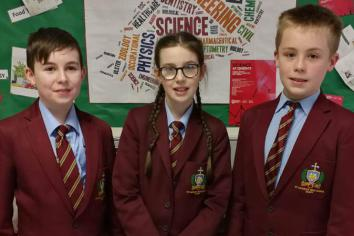 Keady pupils qualify for BT's Young Scientist Competition