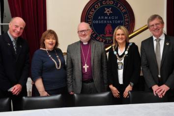 Observatory & Planetarium reflects as Archbishop Richard says farewell