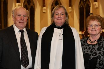Ali installed as new rector at Christ Church, Kilkeel