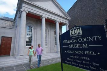 View Armagh's best known sites from your front room!