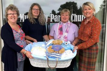 Mullavilly 'Baby Basics' centre welcomes Royal support for UK-wide charity efforts