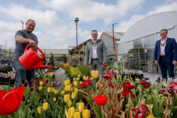 Council hits the High Street to welcome businesses back to towns