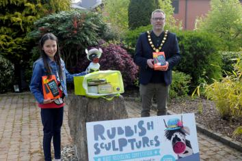 Council launches kids recycling art competition Council launches recycling competition for children
