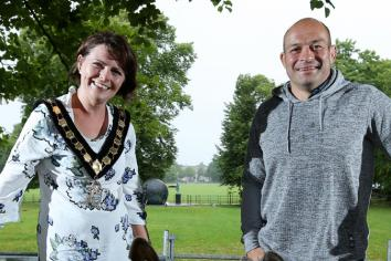Freedom of borough honour for rugby legend Rory Best
